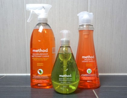 Happy Cleaning: Haushaltsreiniger von method