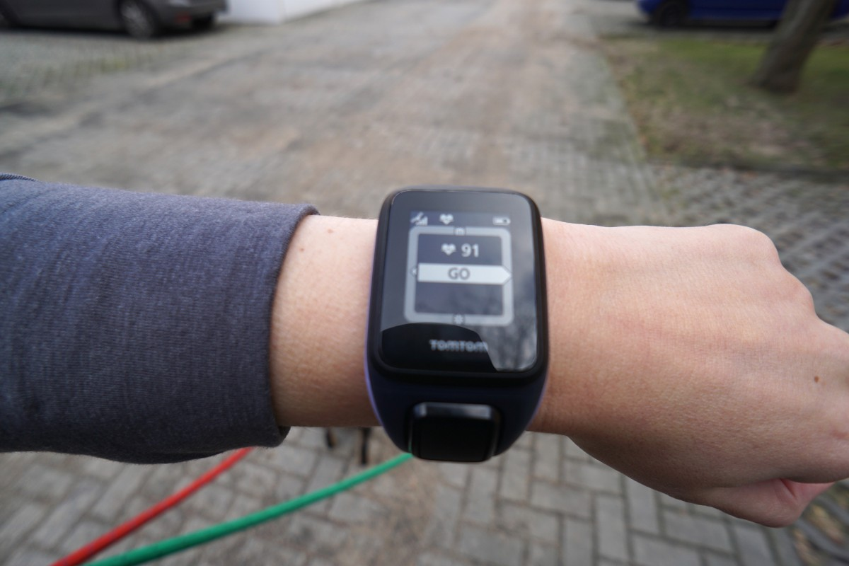 TomTom Runner 2 Cardio + Music im Test